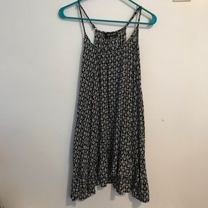 Summer dress patterned from LF